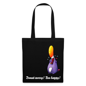 cloth bag penguin - Stoffbeutel