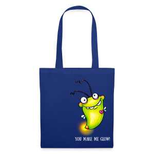 cloth bag glowworm - Stoffbeutel