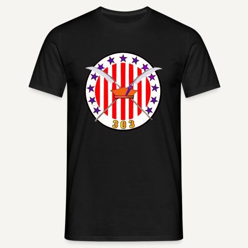 Odznaka Dywizjonu 303 (kolorowa) - Koszulka męska