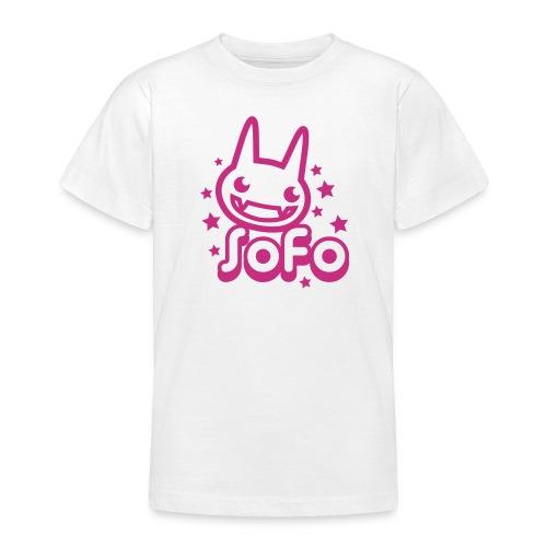 SOFO JR Kitty Tee - T-shirt tonåring