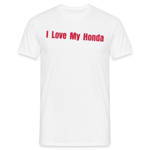 I love my Honda - T-shirt Homme