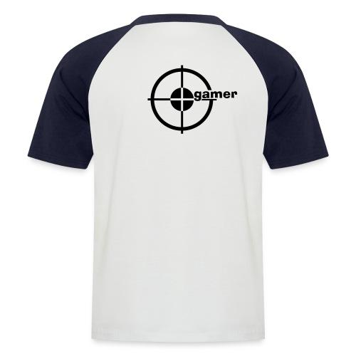 baseballshirt 1 - Männer Baseball-T-Shirt