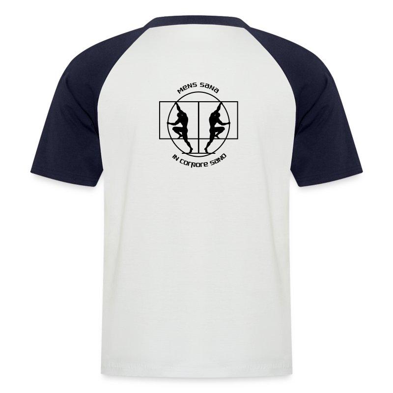 Mens sana - T-shirt baseball manches courtes Homme