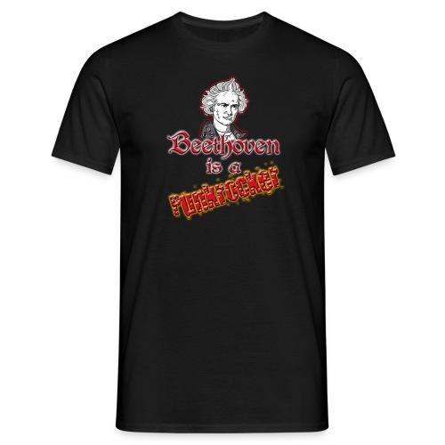 Beethoven is a Punkrocker! - Männer T-Shirt