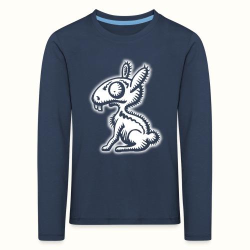 Ruffled Rabbit wit VLA49 - Kinderen Premium shirt met lange mouwen