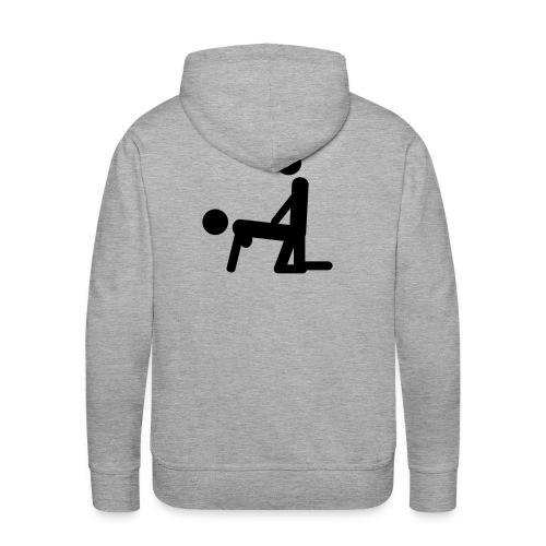 Viva el deporte. - Sudadera con capucha premium para hombre