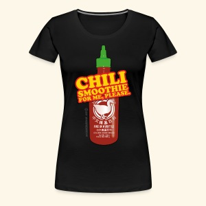 Chili Smoothie - Frauen Premium T-Shirt