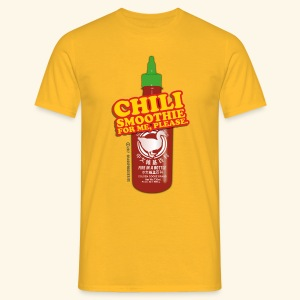 Chili Smoothie - Männer T-Shirt