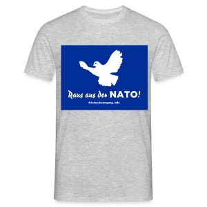 Friedenstaube T-Shirt - Männer T-Shirt
