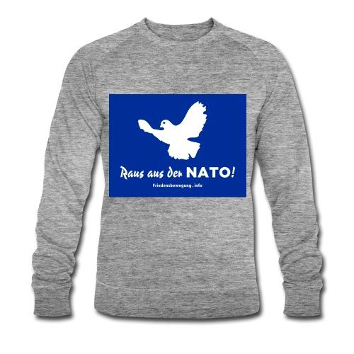 Friedenstaube Sweatshirt - Männer Bio-Sweatshirt von Stanley & Stella