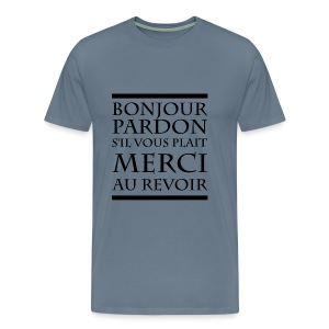 Politesse - T-shirt Premium Homme