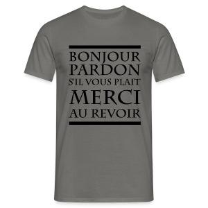 Politesse - T-shirt Homme