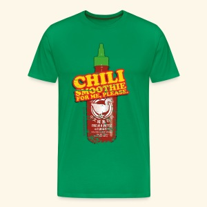 lustiges Shirt Chili Smoothie - Männer Premium T-Shirt