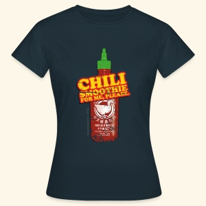 lustiges Shirt Chili Smoothie - Frauen T-Shirt