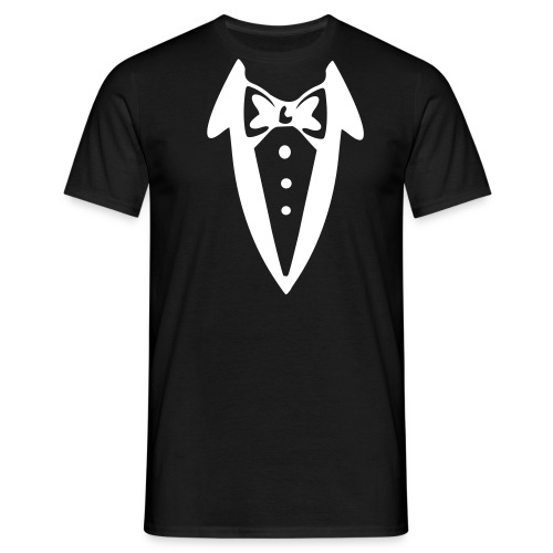 Bow Tie Suit Smoking BTSS001 - Men's T-Shirt