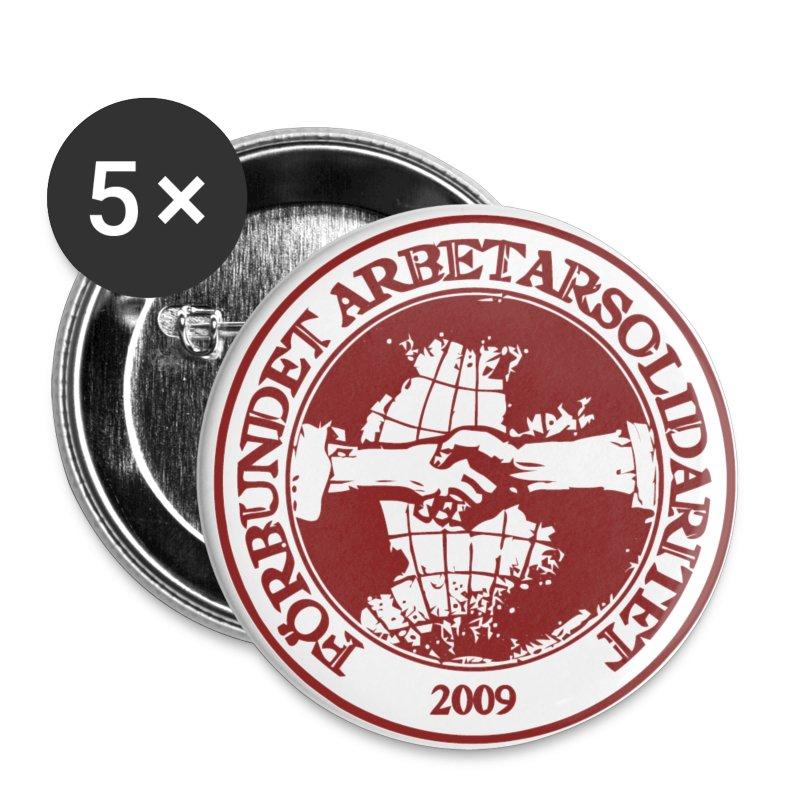 Logo - Badge - 25 mm - Små knappar 25 mm