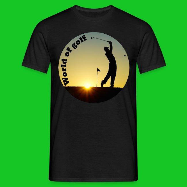 Golfer heren t-shirt