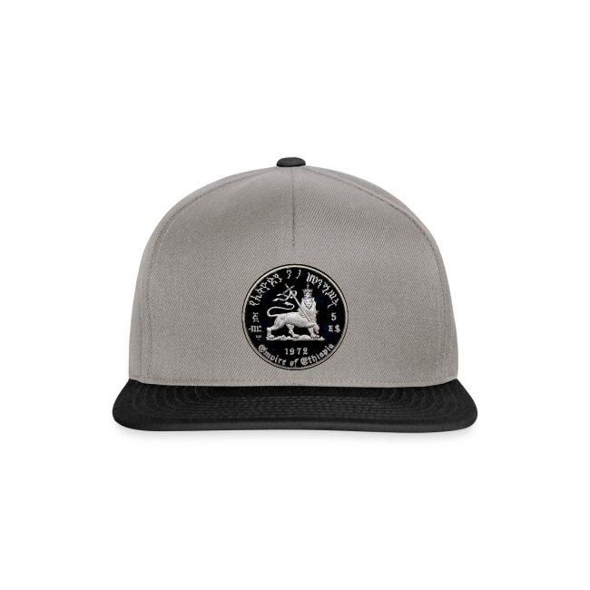 Lion of Judah Baseball Cap - Rastafari Basecap - Reggae Snapback