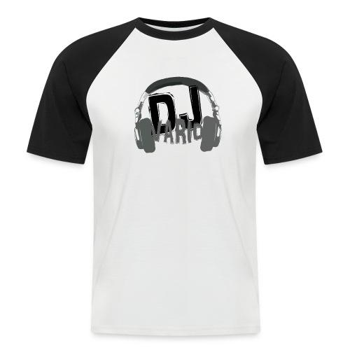 T-shirt MC Homme Dj VARIO - T-shirt baseball manches courtes Homme