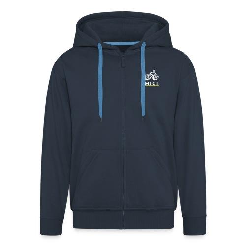 MTCT Fleece Zip Hoodie - Navy Men - Men's Premium Hooded Jacket