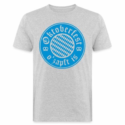 Oktoberfest O'Zapft Is Men's Organic T-Shirt - Men's Organic T-Shirt