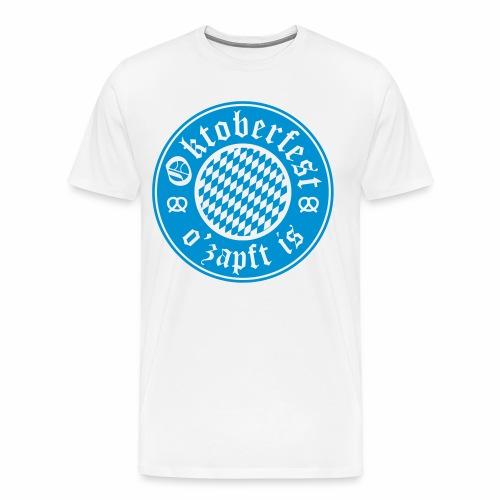 Oktoberfest O'Zapft Is Men's T-Shirt - Men's Premium T-Shirt