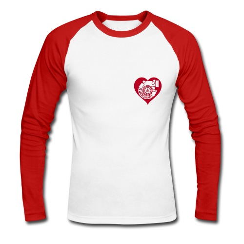 Turboheart :) - Men's Long Sleeve Baseball T-Shirt