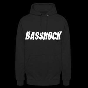 DJT.O BASSROCK PULLOVER BLACK - Unisex Hoodie