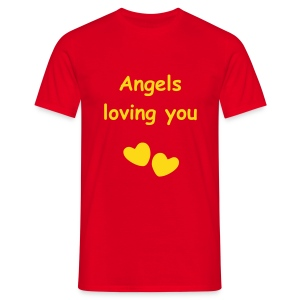Angels loving you - Männer T-Shirt