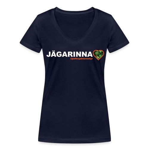 T-shirt dam - Ekologisk T-shirt med V-ringning dam från Stanley & Stella