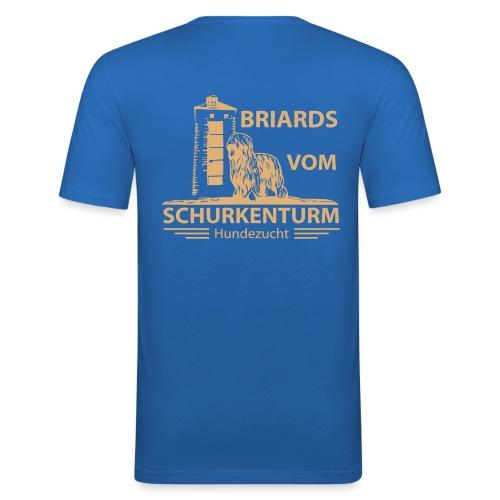 Briards vom Schurkenturm - Männer Slim Fit T-Shirt