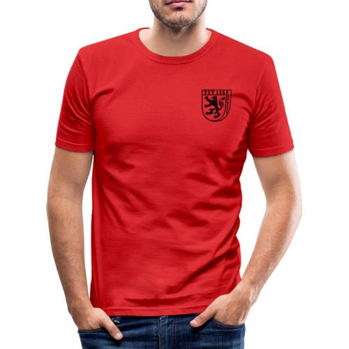 Slim fit-Shirt Logo  - Männer Slim Fit T-Shirt