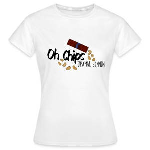 Chips gönnen │ Damen T-Shirt - Frauen T-Shirt