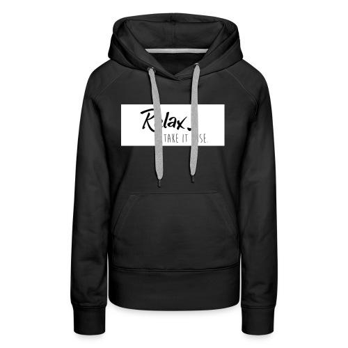 Take it Düse │ Damen Pullover - Frauen Premium Hoodie