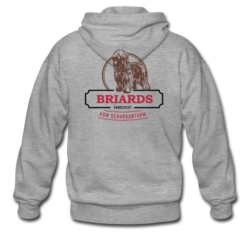 Briards vom Schurkenturm - Männer Premium Kapuzenjacke