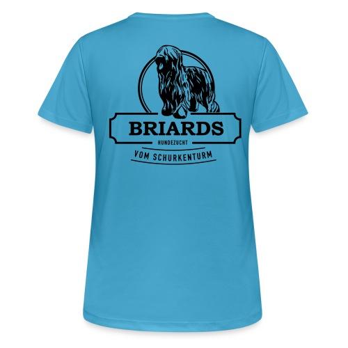 Briards vom Schurkenturm - Frauen T-Shirt atmungsaktiv