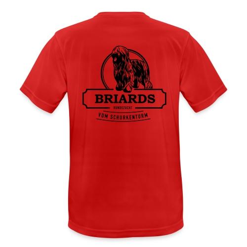 Briards vom Schurkenturm - Männer T-Shirt atmungsaktiv