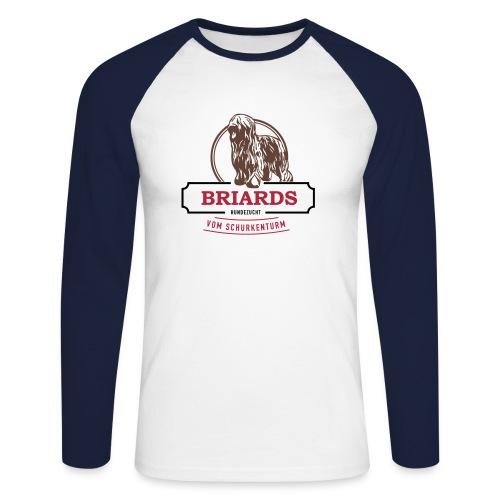 Briards vom Schurkenturm - Männer Baseballshirt langarm