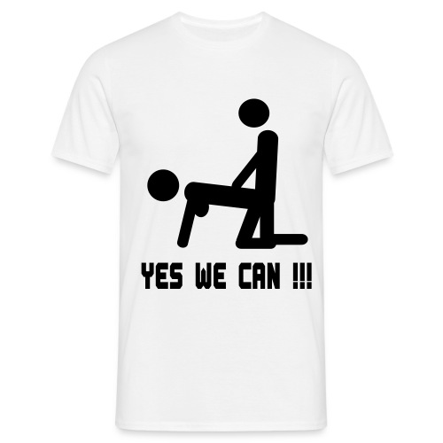 Yes we can - T-shirt Homme