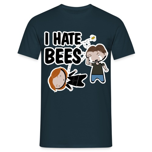 Camiseta Expediente X, I hate Bees - chico manga corta - Camiseta hombre