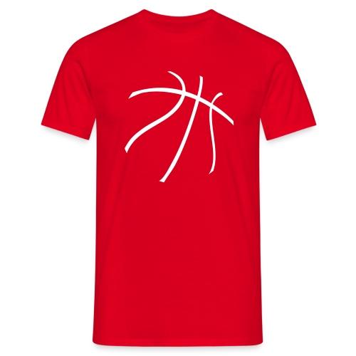 BASKONISTAS BALL ROJA - Camiseta hombre