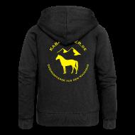 Pullover & Hoodies ~ Frauen Premium Kapuzenjacke ~ Artikelnummer 11190990