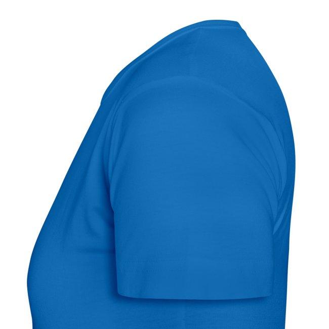 Friedenstaube T-Shirt Frauen blau