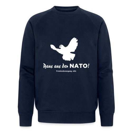 Friedenstaube Sweatshirt navy - Männer Bio-Sweatshirt von Stanley & Stella