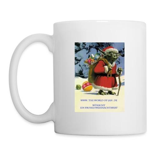 Yoda-Weihnachtsmann-Tasse  - Tasse