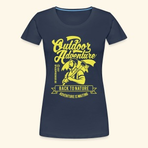 Outdoor Adventure - Frauen Premium T-Shirt