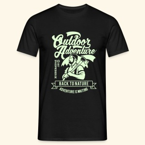 Outdoor Adventure - Männer T-Shirt