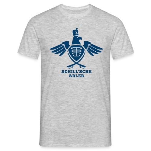 Schill´sche Adler (grau) - Männer T-Shirt