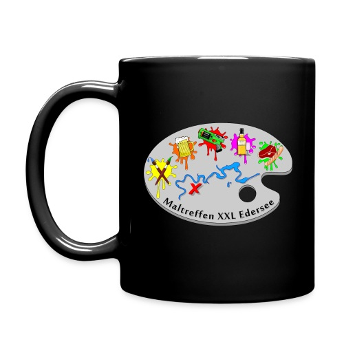 MT XXL Edersee Tasse schwarz - Tasse einfarbig