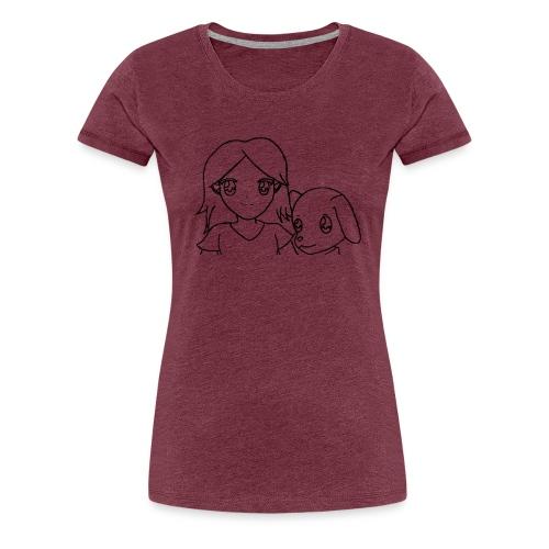 Frauen Premium T-shirt Hermann und Nina - Frauen Premium T-Shirt